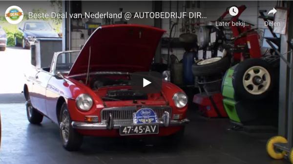 Dirk van der Steen bij SBS6 programma Beste Deal van Nederland